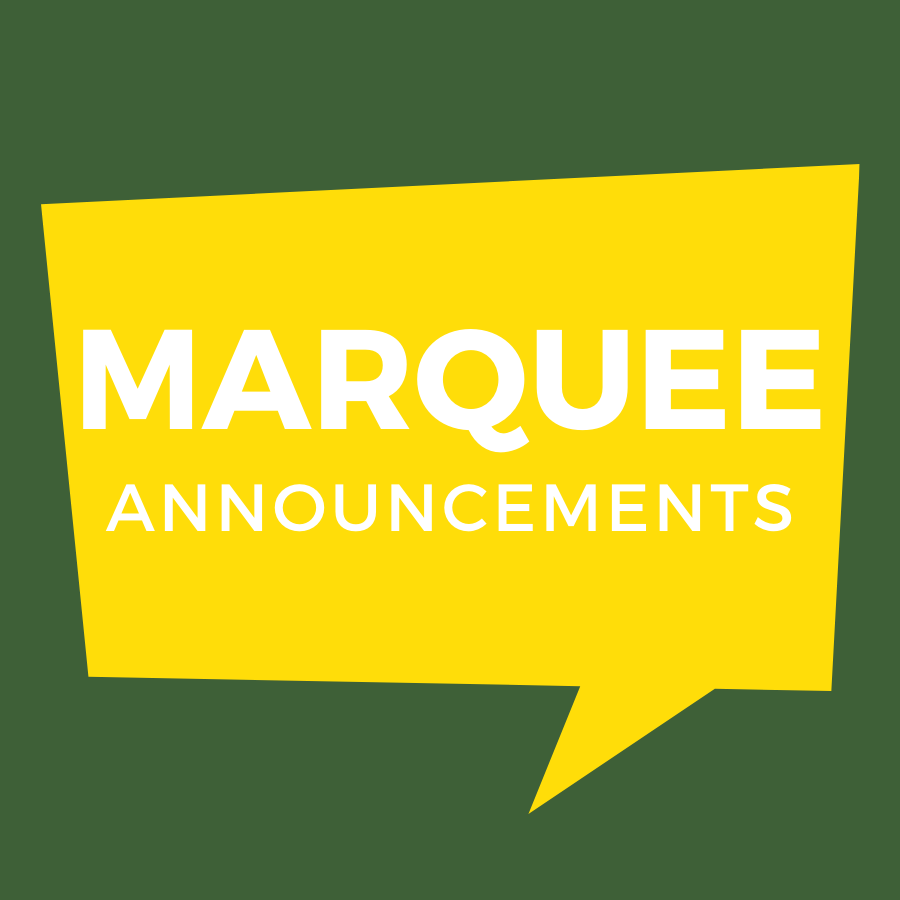 Marquee Announcement Form