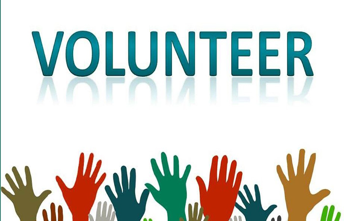 Volunteer to help your community