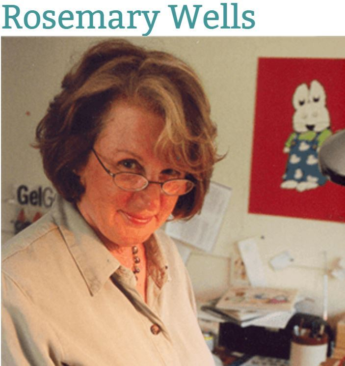 Author & Illustrator Rosemary Wells Comes to Visit!