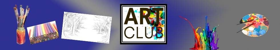 Art Club Banner Display