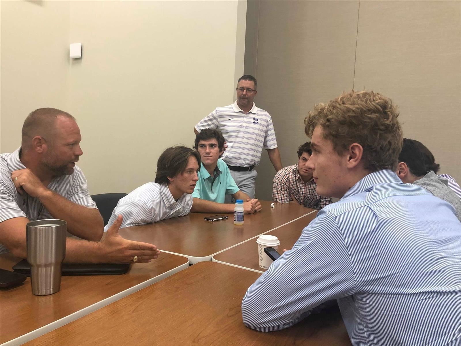 BISD Sports Leadership Council Learns from Character Coach