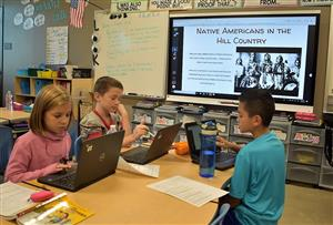 New Classroom Technology Takes Third Grade History to the Next Level