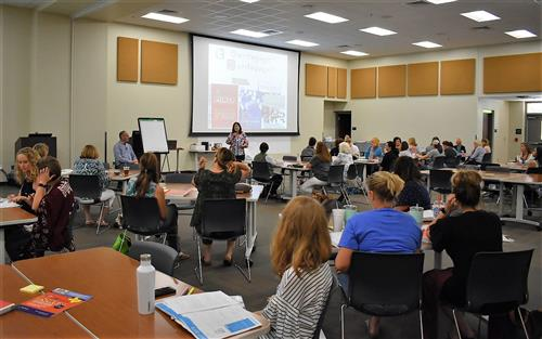 Boerne ISD's Teaching and Learning Hosts Boerne U for New and Returning Teachers