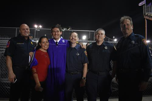 San Antonio Firefighters Surprise Boerne High School Graduate