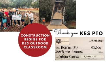 Kendall Elementary PTO Makes Large Donation For Outdoor Classroom