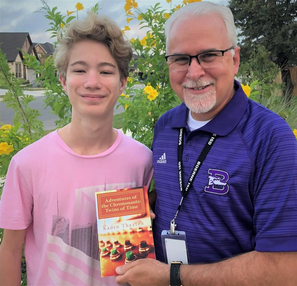 Boerne High School Student Becomes Published Author