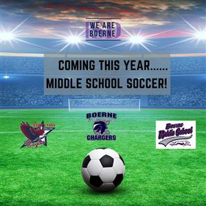 Coming This Year Middle School Soccer