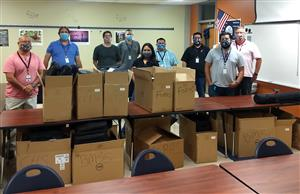 Boerne ISD Distributes Laptops to Teachers