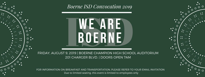 Boerne Independent School District / Homepage
