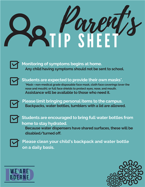 Parent's Tip Sheet