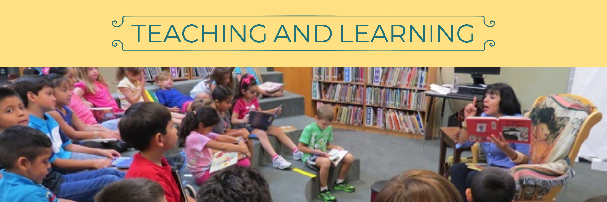 Teaching and Learning, banner image