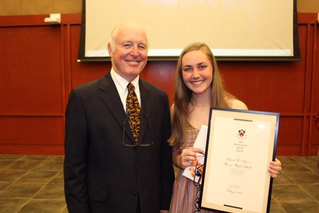 Boerne High School Junior Wins Princeton Book Prize