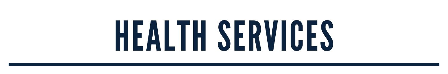 Health Services, banner image