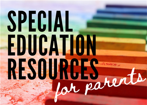 Special Education Resources For parents, Button